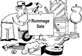 Rummage Sale BW